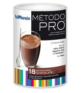 Bimanan PRO 18 Batidos Sabor Chocolate 540g