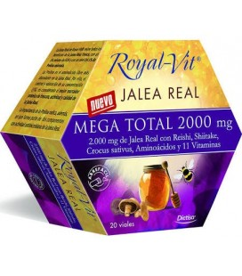 Dietisa jalea real royalvit mega total 2000mg 20 viales