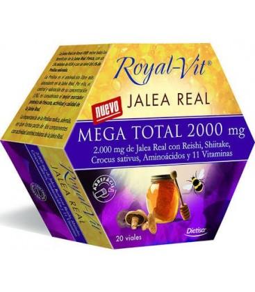 Dietisa jalea real royalvit mega total 2000mg 20 viales