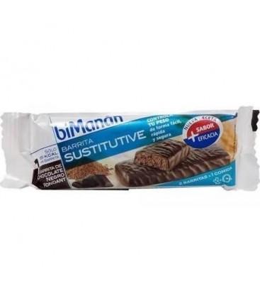 Bimanán Sustitutive sabor Chocolate Fondant 1 barrita