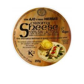 refrig queso untar ajo y hierbas 255 g
