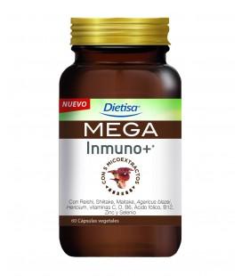 Dietisa mega inmuno + 60 cápsulas