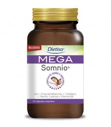 Dietisa MEGA Somnio 60 Cápsulas