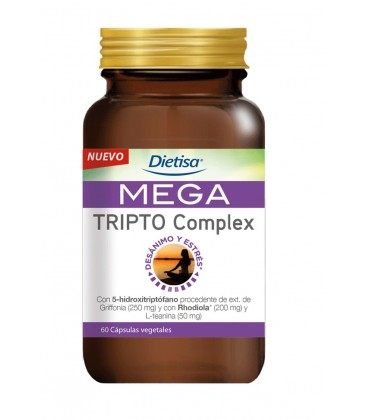 Dietisa MEGA Tripto Complex 60 cápsulas