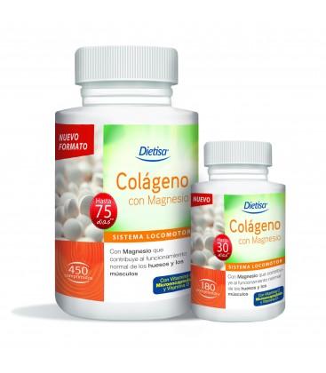 Dietisa Colágeno con Magnesio 450 comprimidos