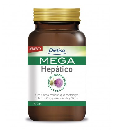 Dietisa MEGA Hepático 60 caps.