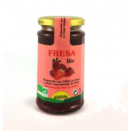 mermelada fresa bio 240gr