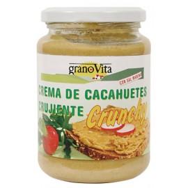 crema cacahuete crunchy 330gr