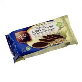 galletas finas arroz chocolate s gluten 140 gr