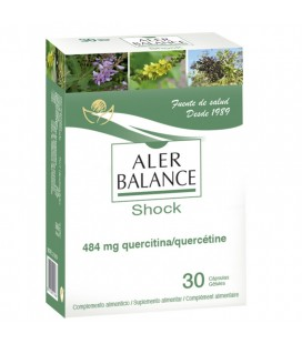 Aler balance shock 30 cápsulas