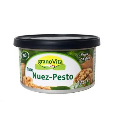 PATE NUEZ Y PESTO BIO LATA 125GR
