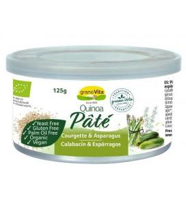 Pate quinoa calabacin esparragos bio  125gr