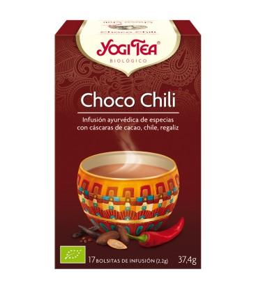 YOGI TEA CHOCO CHILI BIO 17 BOLSITAS