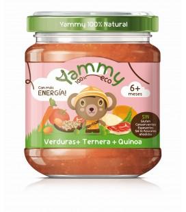 Potito bio verduras ternera quinoa 195 gr ( y 6meses)
