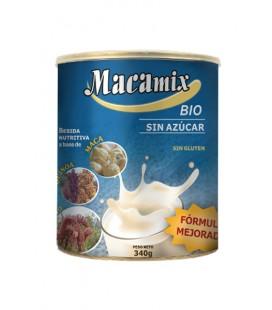 Macamix bio sin azucar  polvo 340gr