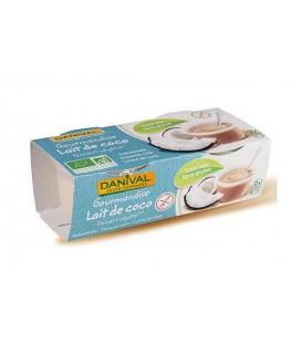 Postre de leche de coco bio ab 2x110 gr