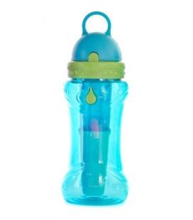 Botella bbo irisana tritan 414ml ir70 azul