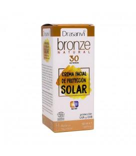 Crema solar protección 30 ecocert 50ml bronze drasanvi