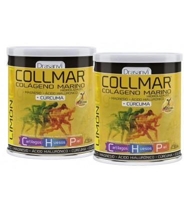 Collmar magnesio cúrcuma limón 300 gr drasanvi Pack 2 uds.