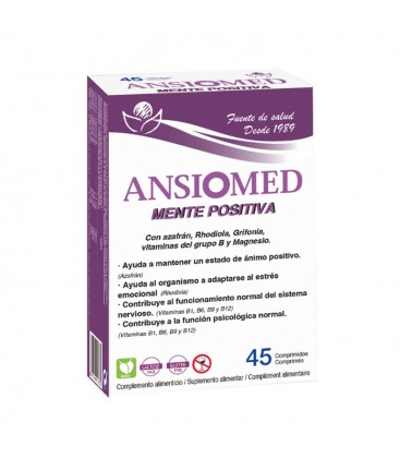 Ansiomed Mente Positiva 45 Comprimidos Bioserum
