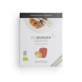 hamburguesa setas y pimiento bio l d 160gr