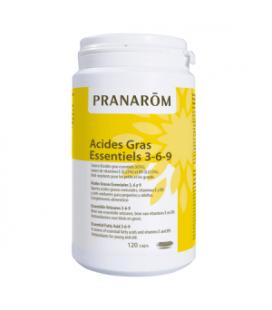 Pranarom acidos grasos 3,6 y 9 120 perlas cápsulas oleoaromáticas