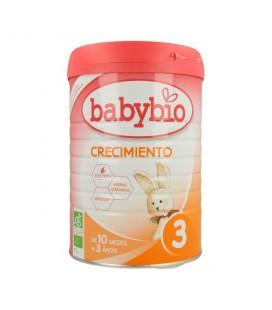 Leche de crecimiento 3 babybio de 10 meses a 3 años