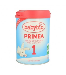 Primea leche ecológica para lactantes 1 bio babybio