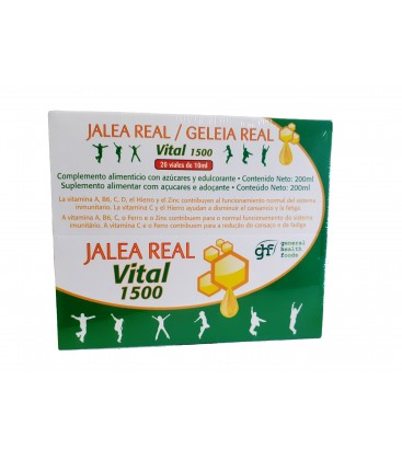 Jalea Real Vitalidad Jada Natural 20 Ampollas