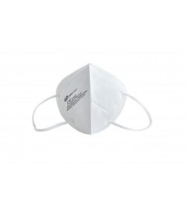 Caja 50 Mascarillas FFP2 - Clip Nasal Ajustable - Certificacion CE/2163 - EN NR