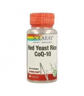Red Yeast Rice CoQ-10 60 cápsulas Solaray