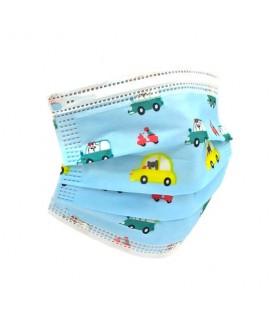 ProSafe Pack 50 Mascarillas Higiénicas Infantiles Desechables - 3 Capas