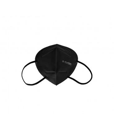 Caja 50 Mascarillas FFP2 Langi - Clip Nasal Ajustable - Certificacion CE/2163 - Negro