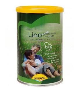 LINO GERMINADO MOLIDO BIO 500GR