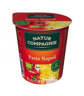 Tallarines con salsa de tomate bio 59g vaso