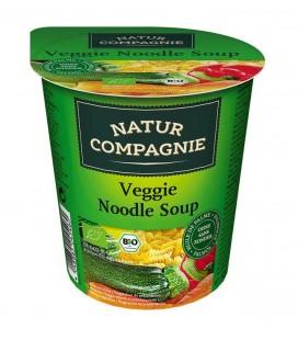 Sopa de verduras con espirales bio 50g vaso
