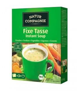 Sopa inst. verduras bio 3x18g caja