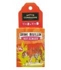 DRINK BOUILLON HOT GINGER (JENGIBRE) BIO 50 GR