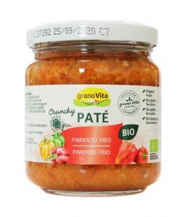 Pate curry y pimiento trio bio 175gr
