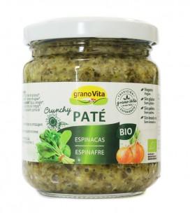 Pate crunchy espinacas bio 175gr