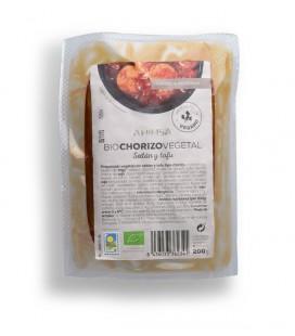 Refrig chorizo seitan tofu bio past. 200gr.