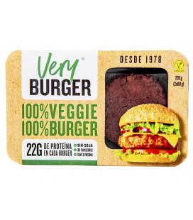 Refrig very burguer (hamburguesa vegana) 220 g