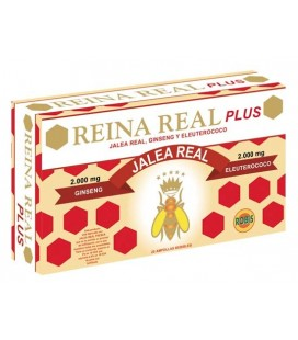 Reina real plus 20 ampollas robis