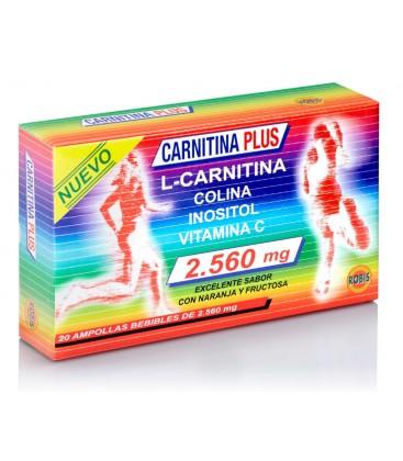 CARNITINA PLUS 20AMP 2000 MG