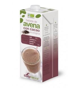 Bebida de avena con cacao ecologica 1000 ml