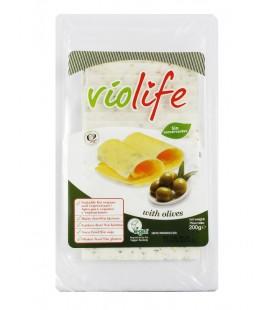 Refrig queso violife olivas lonchas 200 gr.