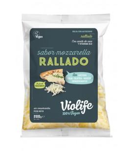 Refrig queso violife rallado mozzarella 200 gr.