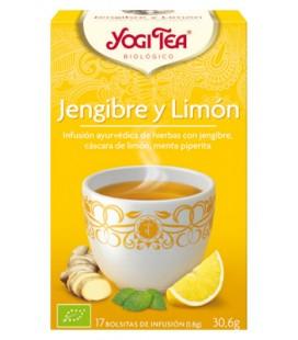 Yogi tea jengibre limon bio 17 bolsitas