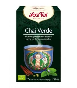 Yogi tea chai verde bio 17 bolsitas