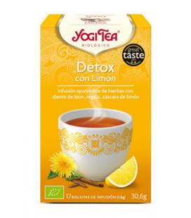 Yogi tea detox limon bio 17 bolsitas